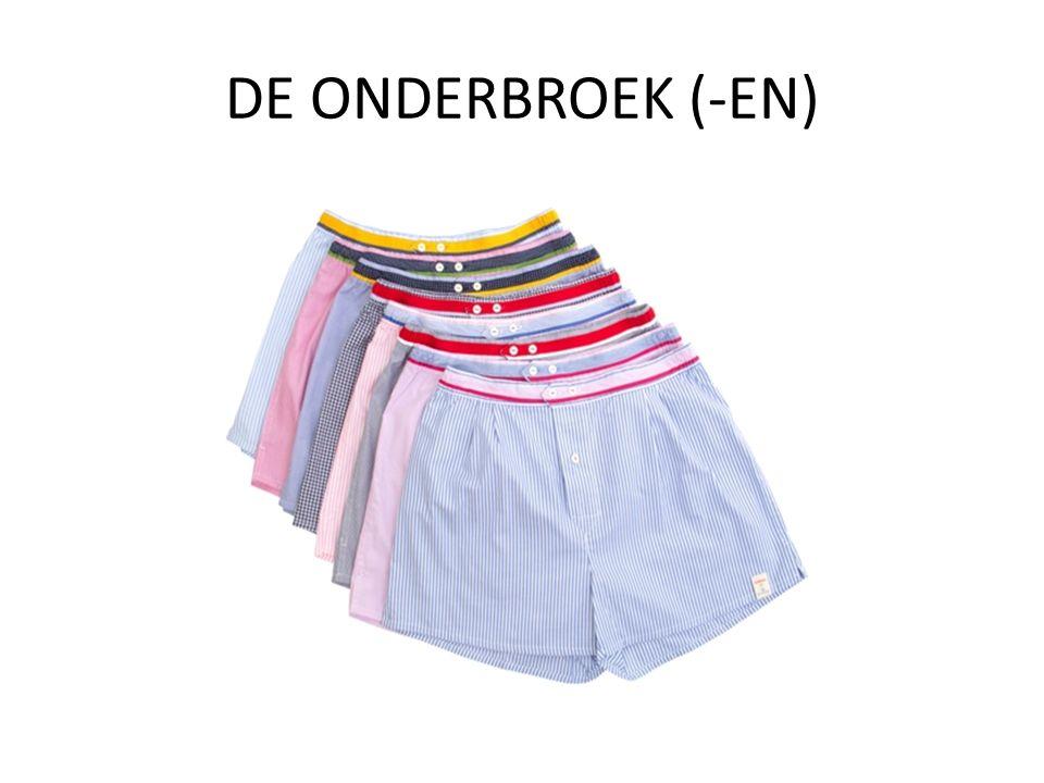 DE ONDERBROEK (-EN)