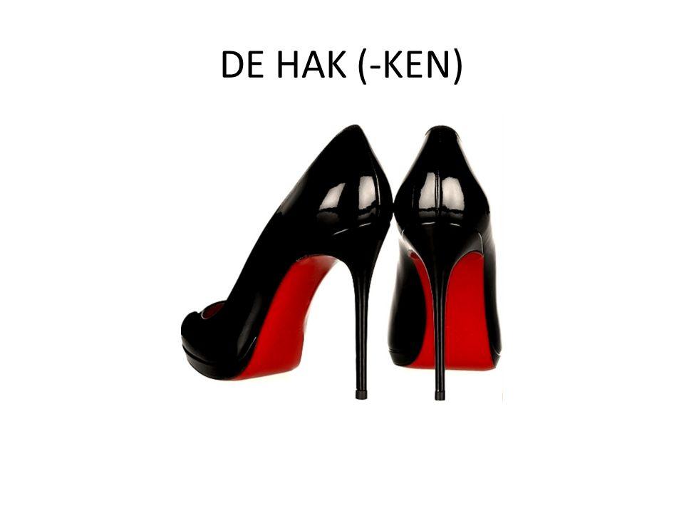 DE HAK (-KEN)