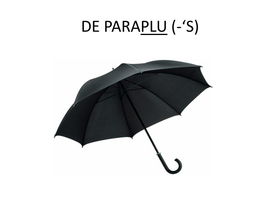 DE PARAPLU (-'S)