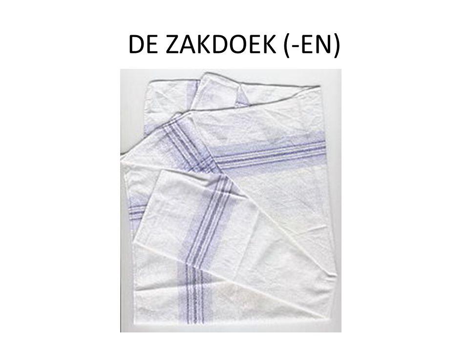 DE ZAKDOEK (-EN)