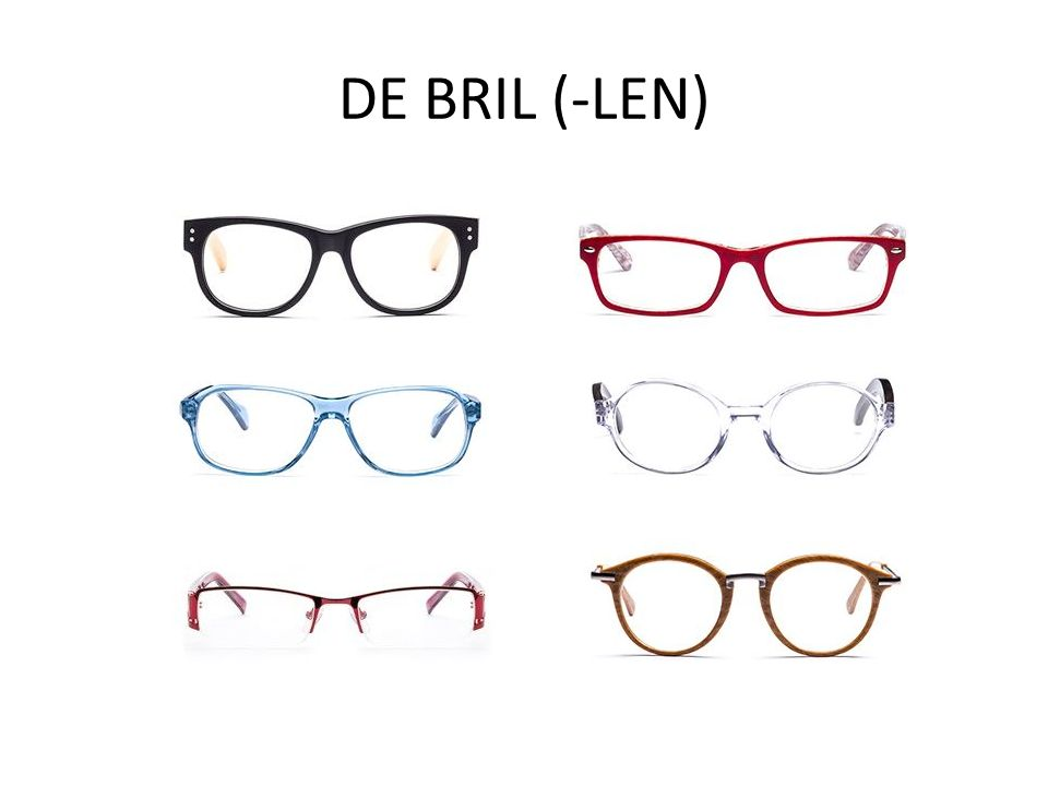 DE BRIL (-LEN)