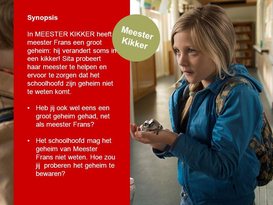 Meester Kikker Synopsis In MEESTER KIKKER heeft meester Frans een groot geheim: hij verandert soms in een kikker.