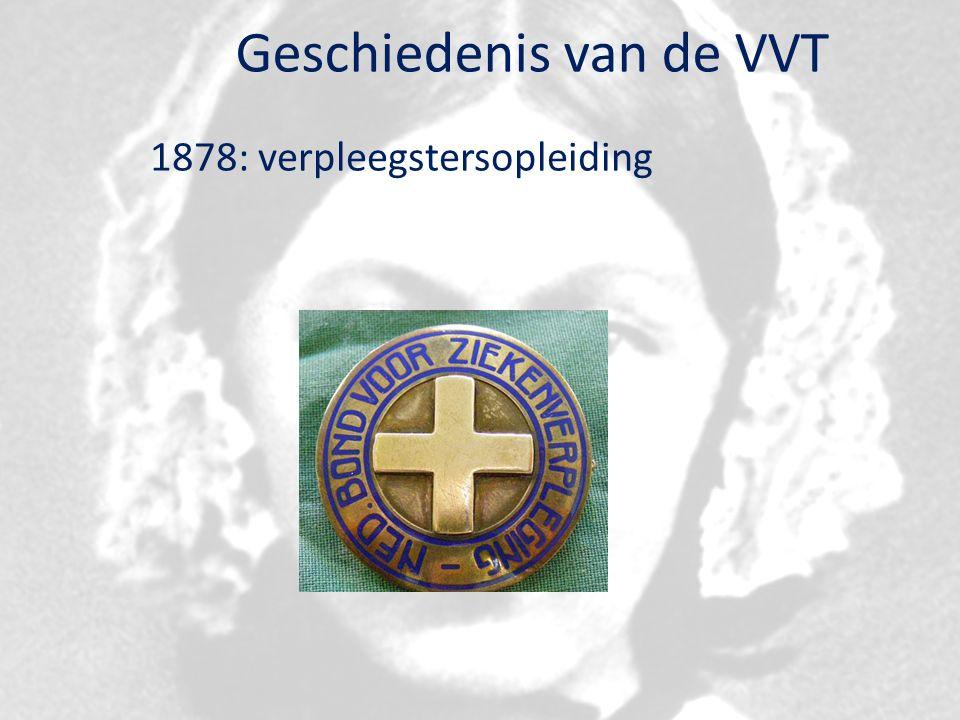 Geschiedenis van de VVT 1878: verpleegstersopleiding