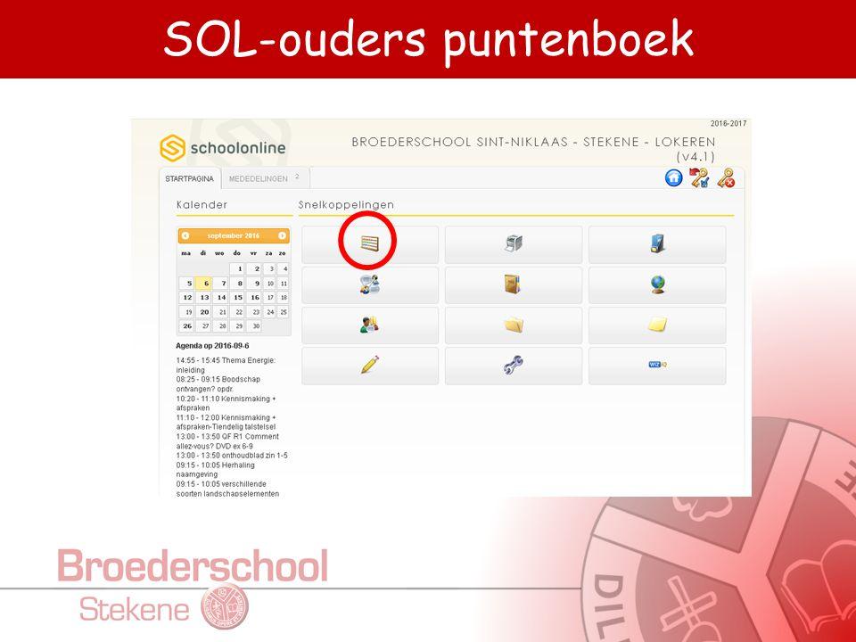 SOL-ouders puntenboek