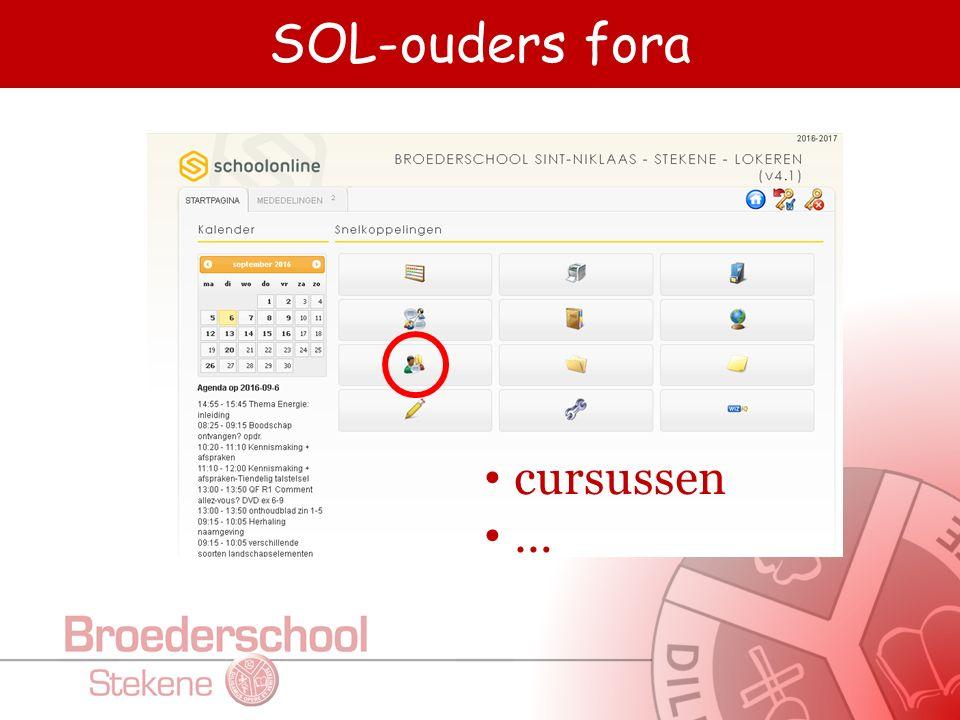 SOL-ouders enquêtes enquêtes