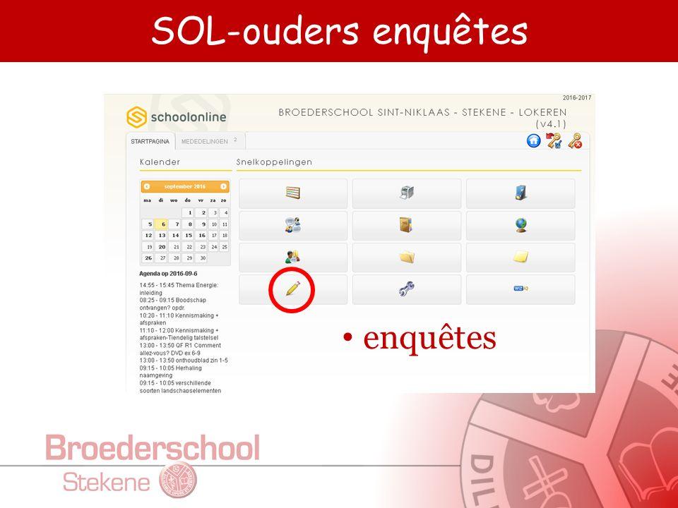 SOL-ouders printbeheer Afprinten rapporten