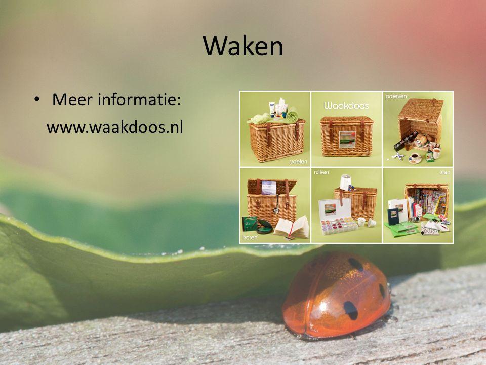 Waken Meer informatie: www.waakdoos.nl