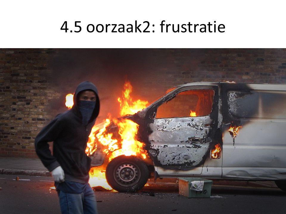 4.5 oorzaak2: frustratie