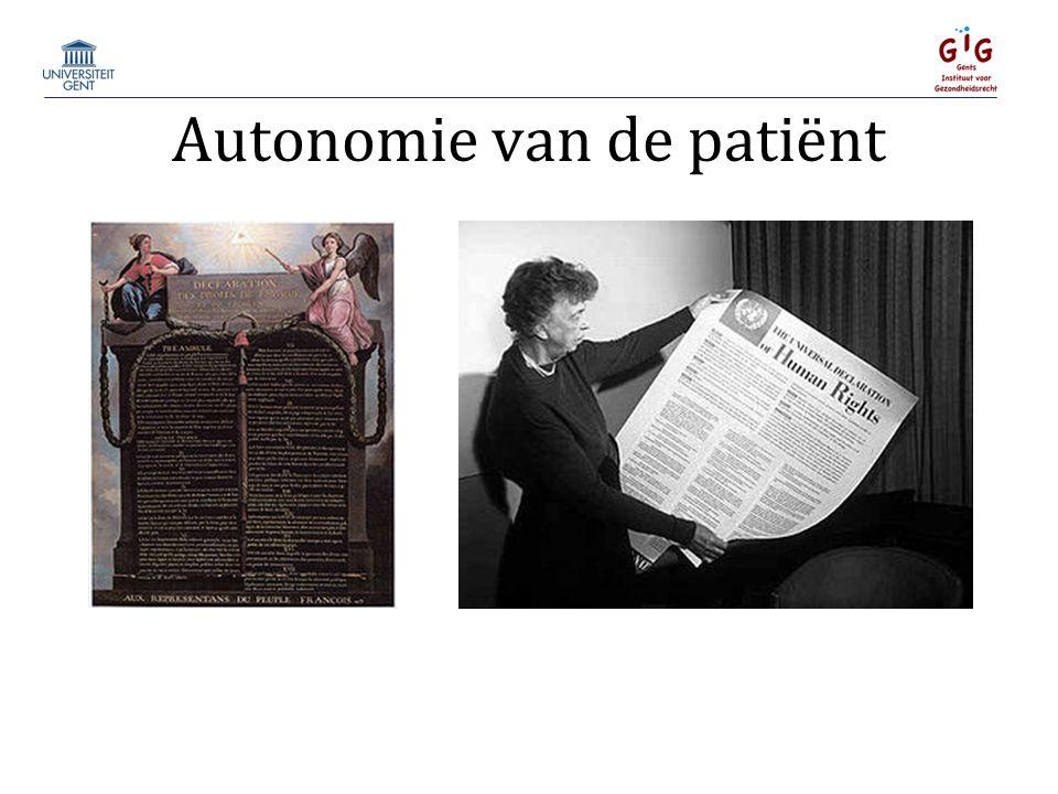 Autonomie van de patiënt
