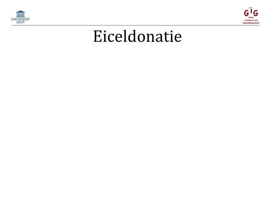 Eiceldonatie