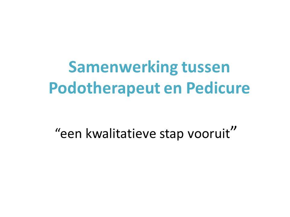 Samenwerking tussen Podotherapeut en Pedicure een kwalitatieve stap vooruit