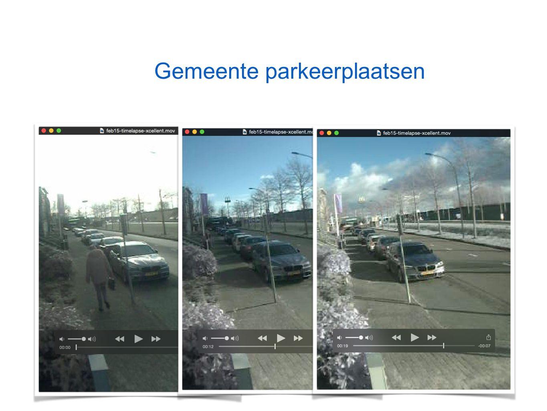 Gemeente parkeerplaatsen