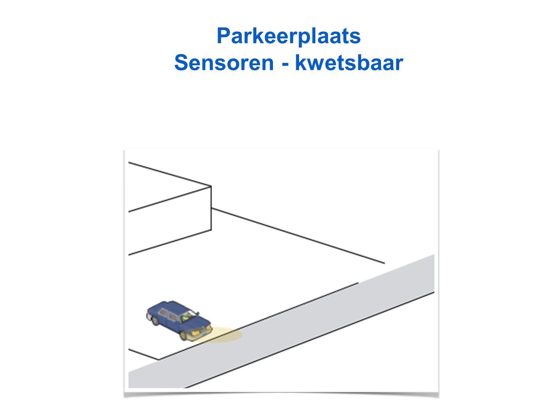 Parkeerplaats Sensoren - kwetsbaar