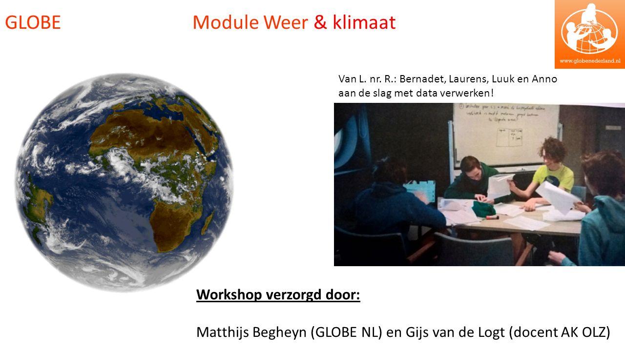 GLOBE Module Weer & klimaat Van L. nr.