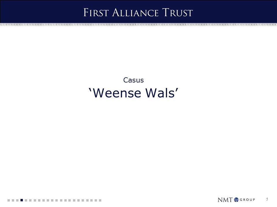 5 Casus 'Weense Wals'