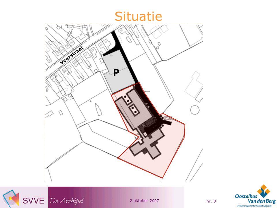 2 oktober 2007 nr.19 Omgevingsfactoren Aantrekkelijke woonomgeving voor bewoners De Vloed.