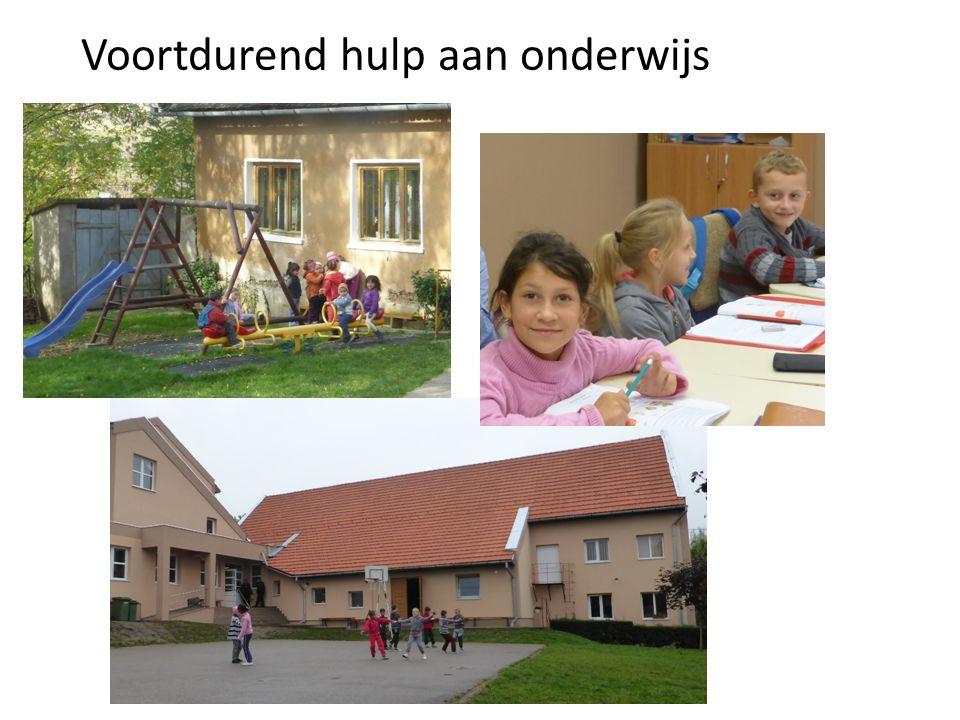 Voortdurend hulp aan onderwijs