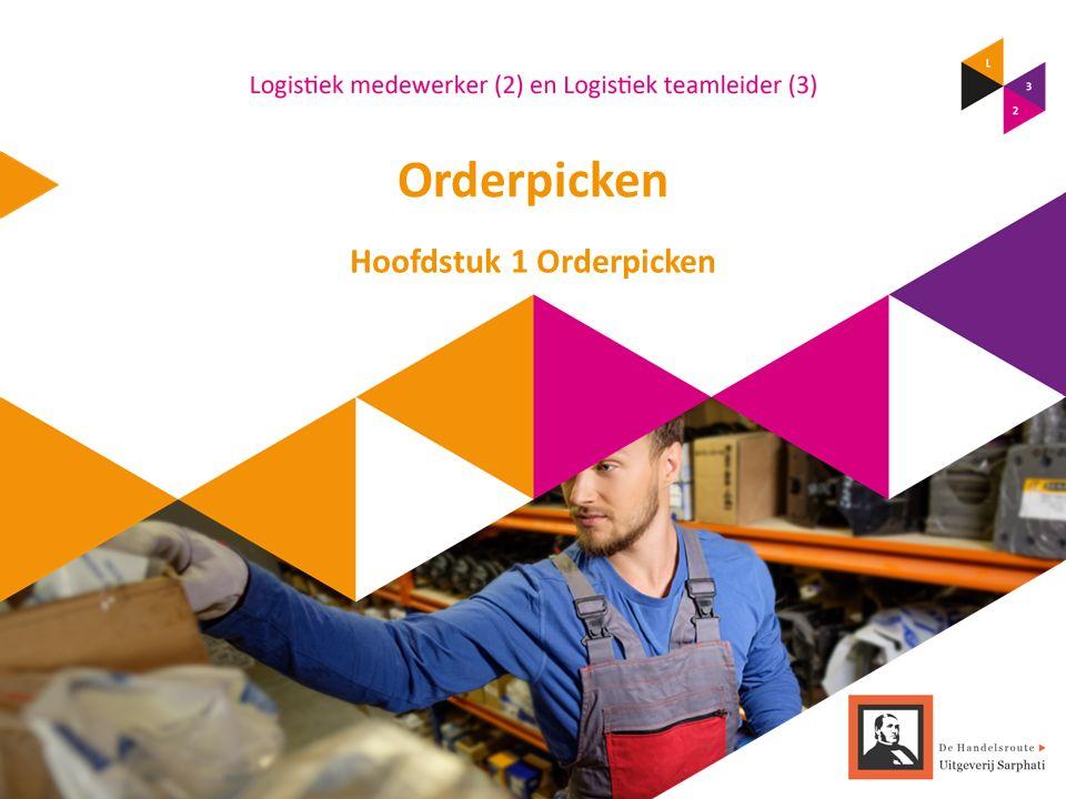 Orderpicken Hoofdstuk 1 Orderpicken