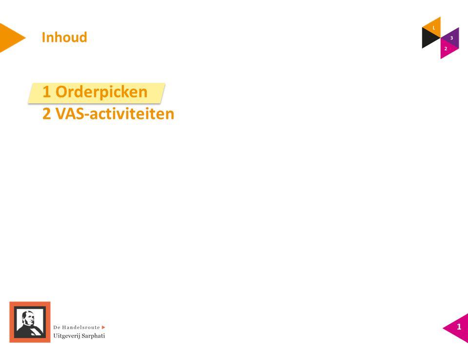 Inhoud 1 Orderpicken 2 VAS-activiteiten 1