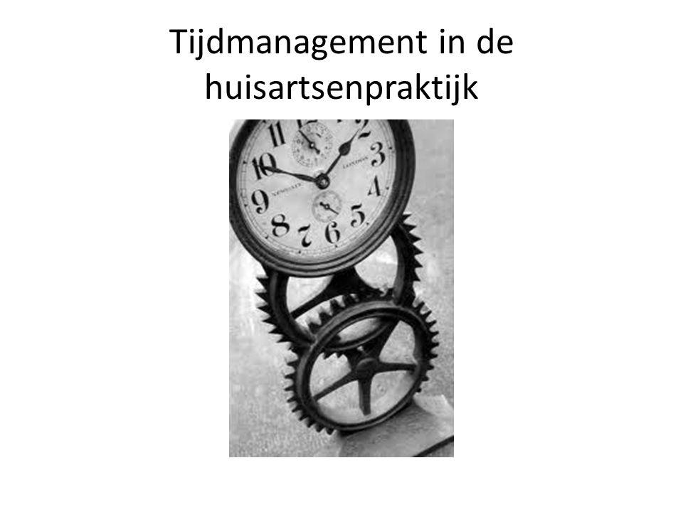 Tijdmanagement in de huisartsenpraktijk