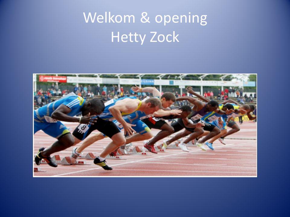 Welkom & opening Hetty Zock