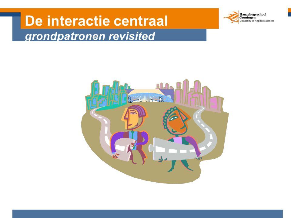 De interactie centraal grondpatronen revisited