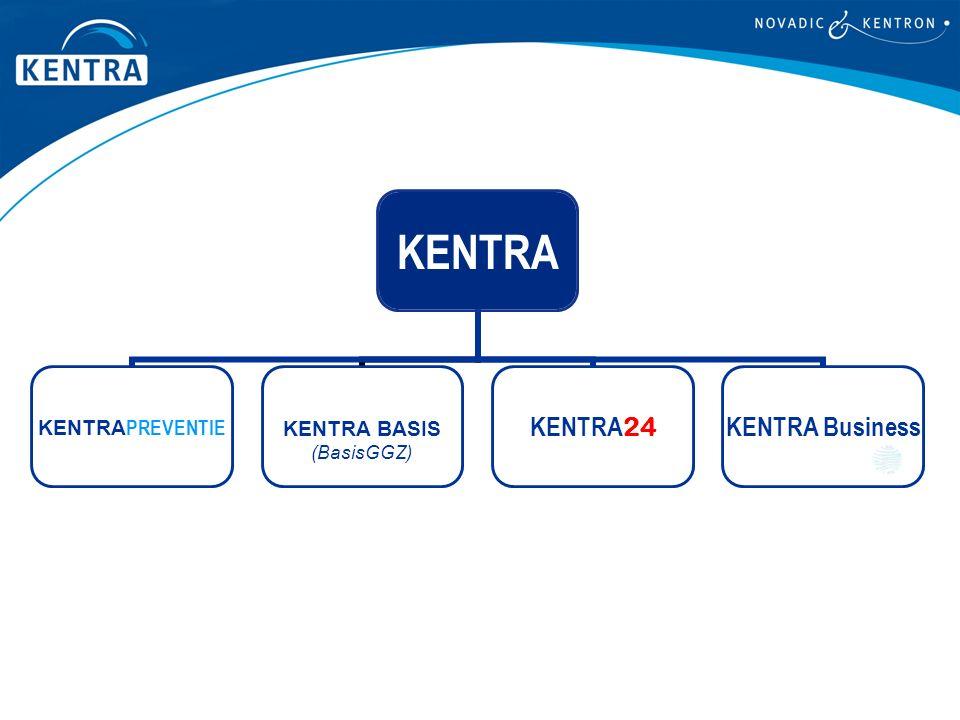 KENTRA KENTRA PREVENTIE KENTRA BASIS (BasisGGZ) KENTRA 24 KENTRA Business