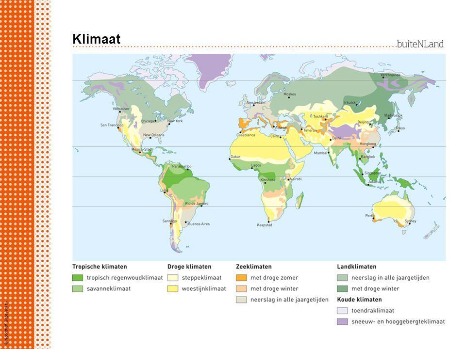 Klimaat klimaat het gemiddelde weer over een periode van 30 jaar