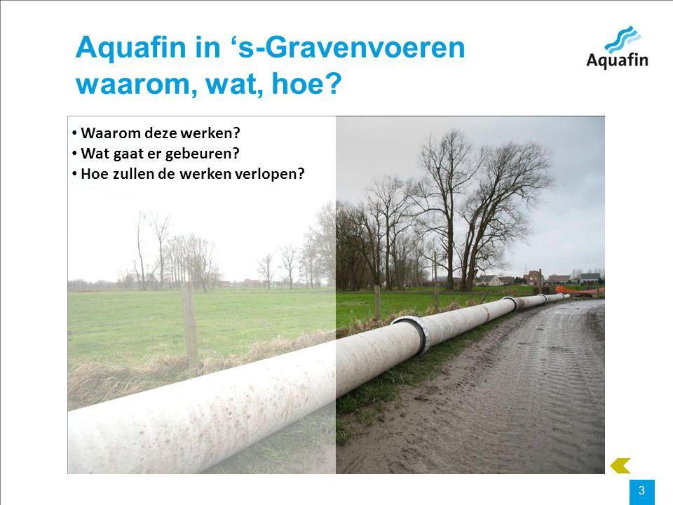 15-12-2010 Aquafin partner for all wastewater projects 4 Waarom deze werken.