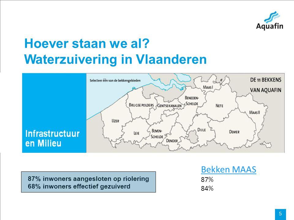 15-12-2010 Aquafin partner for all wastewater projects 6 Wat zal er gebeuren.