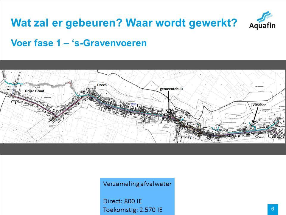 15-12-2010 Aquafin partner for all wastewater projects 7 Voer fase 2 Aansluiting Sint-Pieters-Voeren en Sint-Martens-Voeren