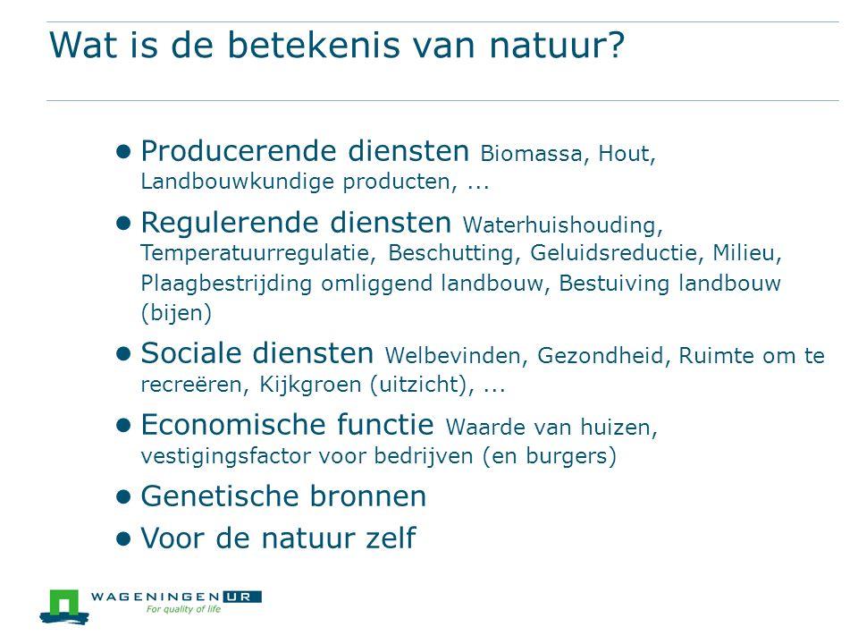 Wat is de betekenis van natuur.