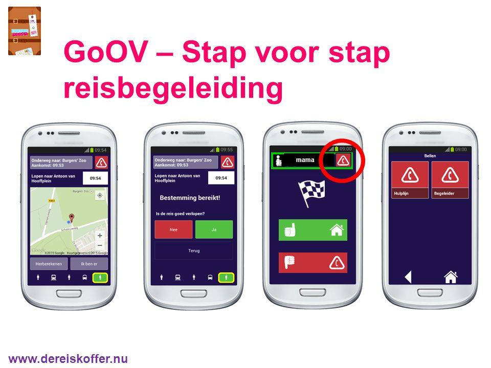 mama GoOV – Stap voor stap reisbegeleiding www.dereiskoffer.nu