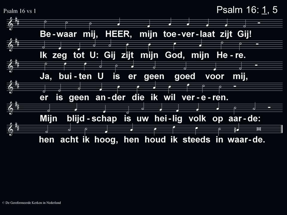 PvN 130 Uit de diepten roep ik u, Heer mijn God Ik heb u nodig Here luister, Nu ik schor gebeden fluister Luister toch, Heer, luister toch Als u niets dan zonde zag, Heer mijn God Wie bleef in leven.