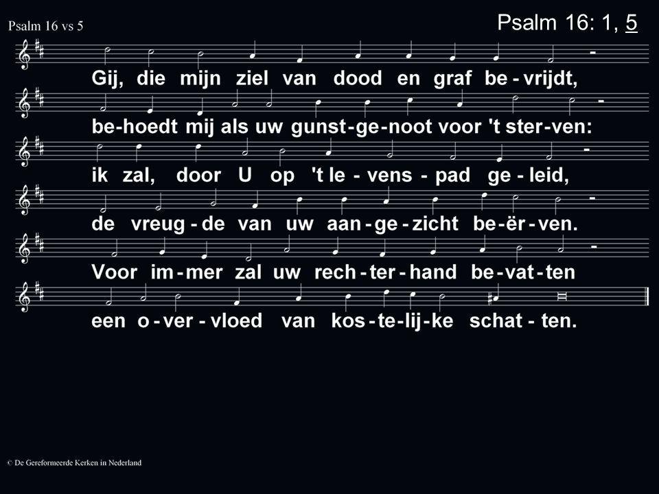 Psalmen voor Nu 4 Mijn God geeft u mij antwoord op mijn vragen.