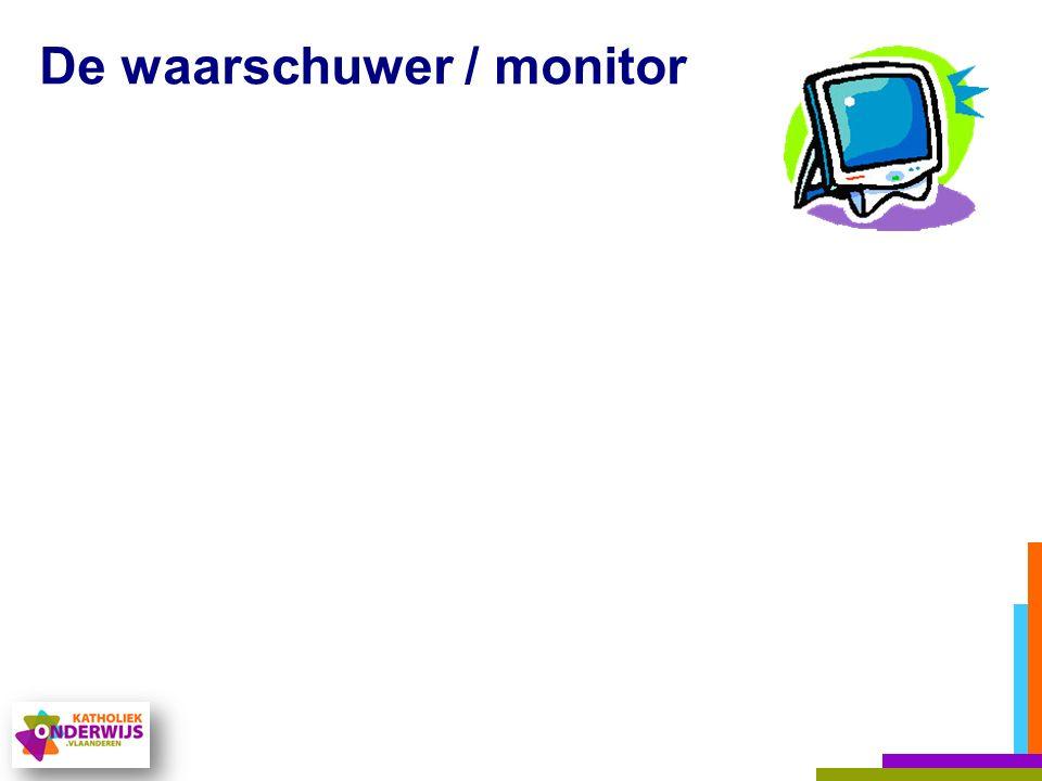 De waarschuwer / monitor