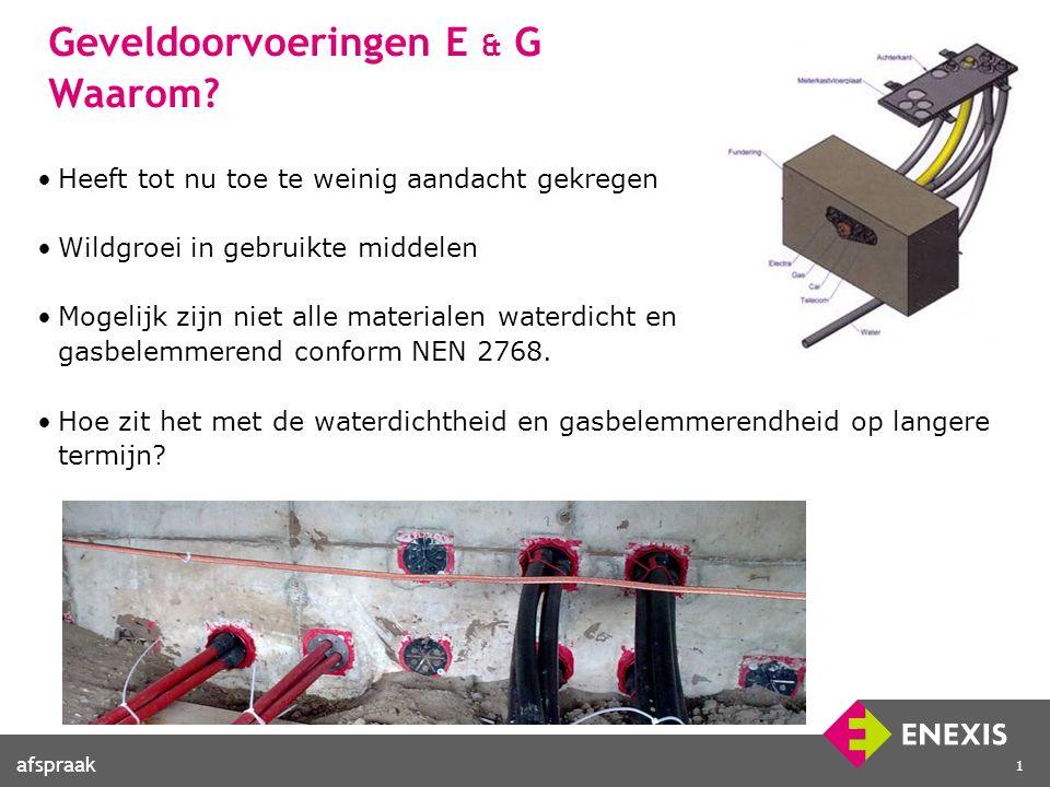 1 Geveldoorvoeringen E & G Waarom.