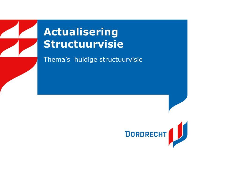 Actualisering Structuurvisie Thema's huidige structuurvisie