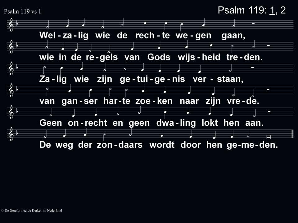 Psalm 119: 1, 2