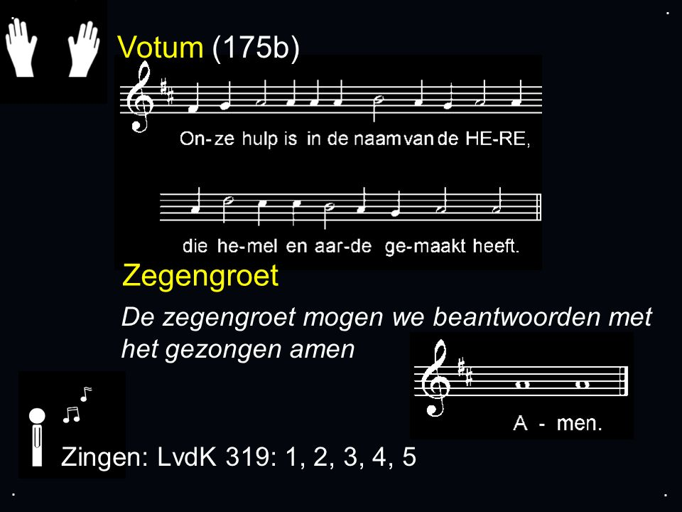 ... LvdK 319: 1, 2, 3, 4, 5