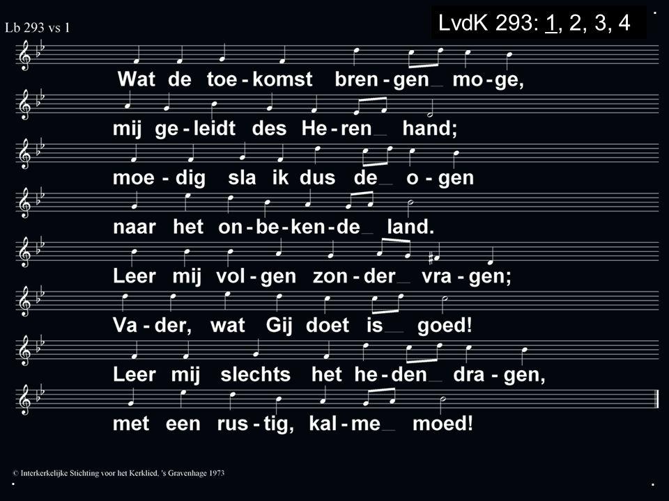 ... LvdK 293: 1, 2, 3, 4