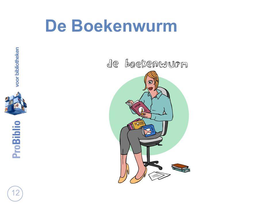 De Boekenwurm 12