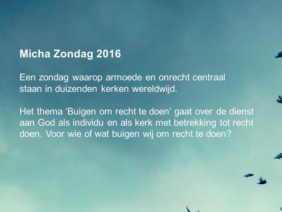 www.michanederland.nl Facebook.com/MichaNederland Twitter @MichaNederland
