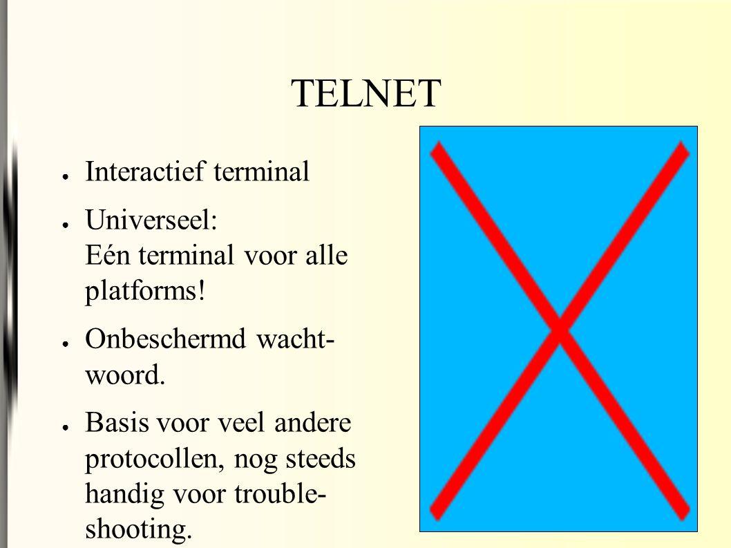 ● Interactief terminal ● Universeel: Eén terminal voor alle platforms.