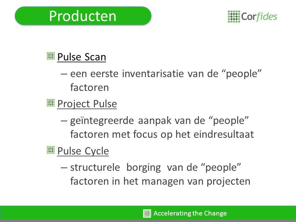 Accelerating the Change Project Pulse Wat en hoe.