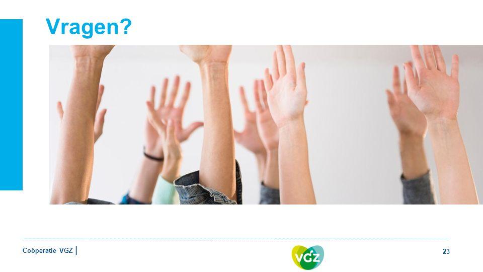 Coöperatie VGZ | Vragen 23
