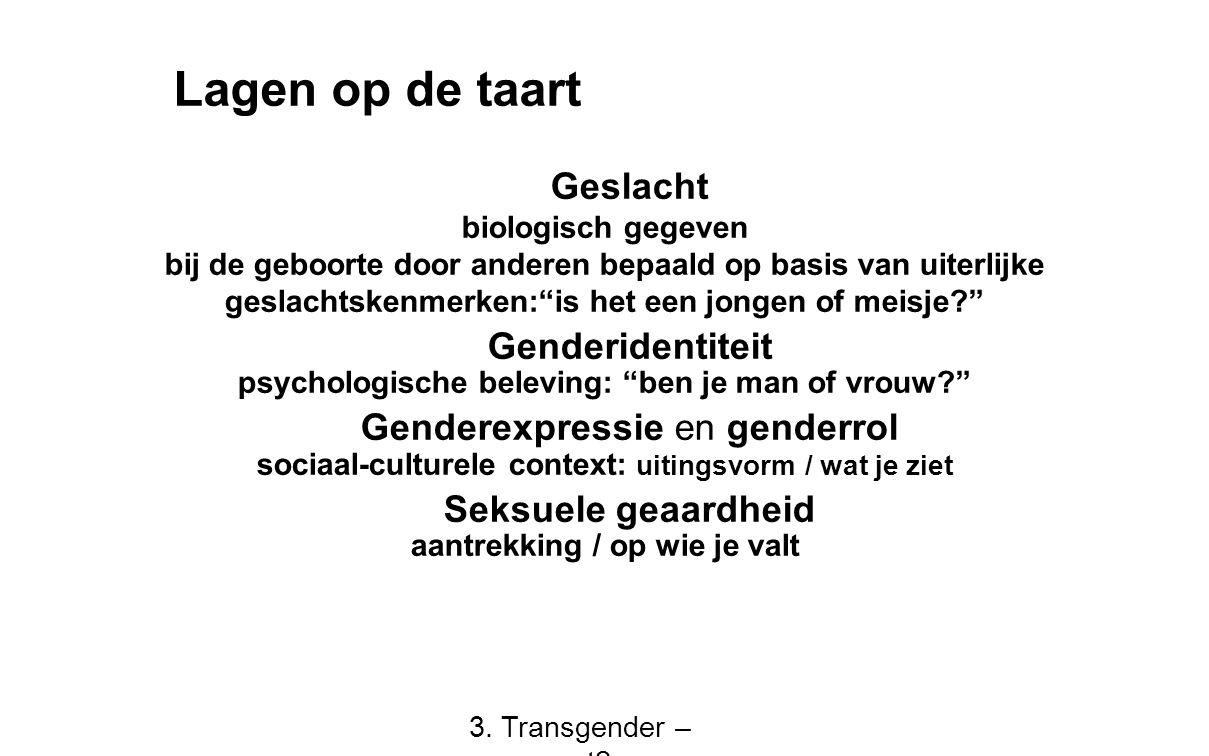 """Geslacht biologisch gegeven bij de geboorte door anderen bepaald op basis van uiterlijke geslachtskenmerken:""""is het een jongen of meisje?"""" Genderident"""