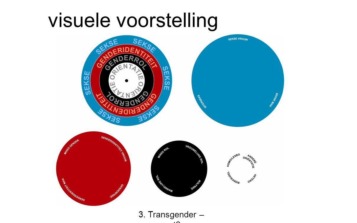 visuele voorstelling 3. Transgender – wat?