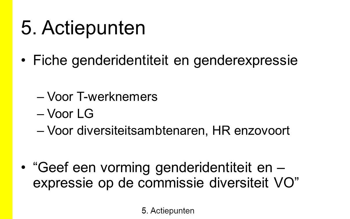 """Fiche genderidentiteit en genderexpressie –Voor T-werknemers –Voor LG –Voor diversiteitsambtenaren, HR enzovoort """"Geef een vorming genderidentiteit en"""