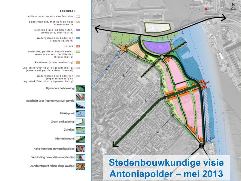 Stedenbouwkundige visie Antoniapolder – mei 2013